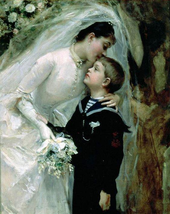 Raimundo de Madrazo y Garreta 1841-1920  Свадебная неделя - Неправильный глагол