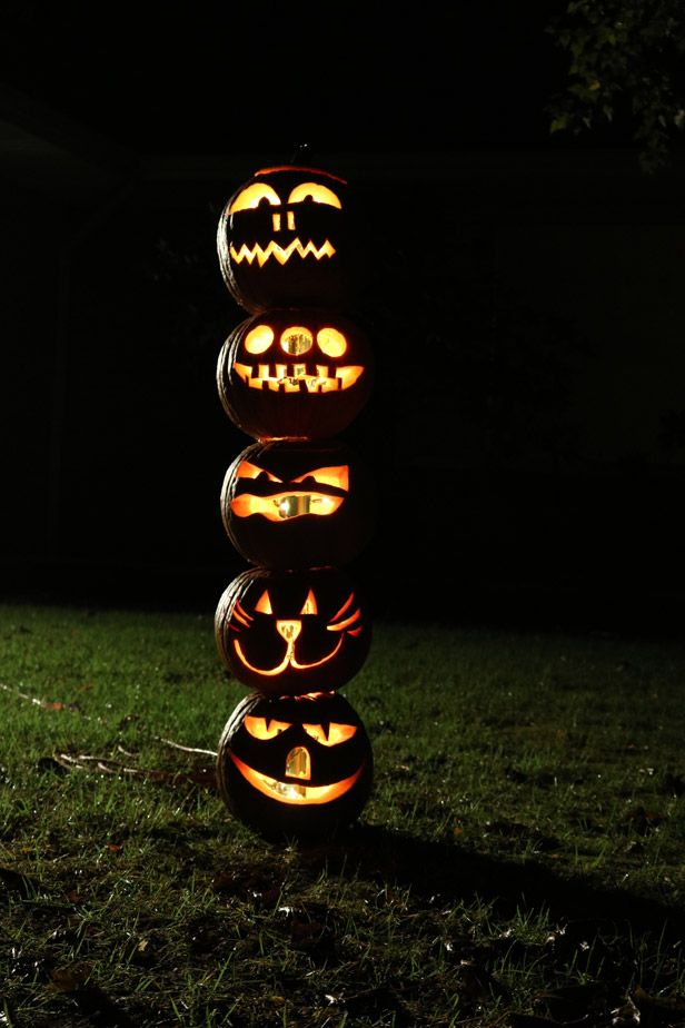 Dress Up Your Yard For Halloween With These DIY Ideas >> http://blog.diynetwork.com/maderemade/2015/10/02/diy-outdoor-home-decor-halloween/?soc=pinterest