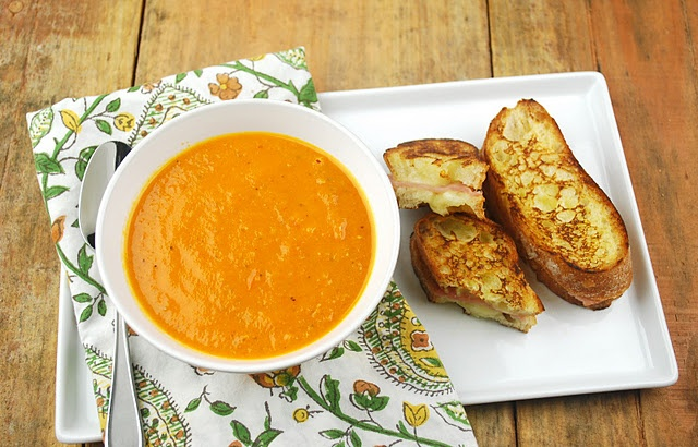 Roasted Heirloom Tomato Soup