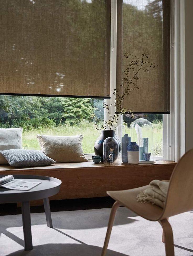 13 best Raambekleding images on Pinterest Window coverings, Shades - store pour fenetre interieur