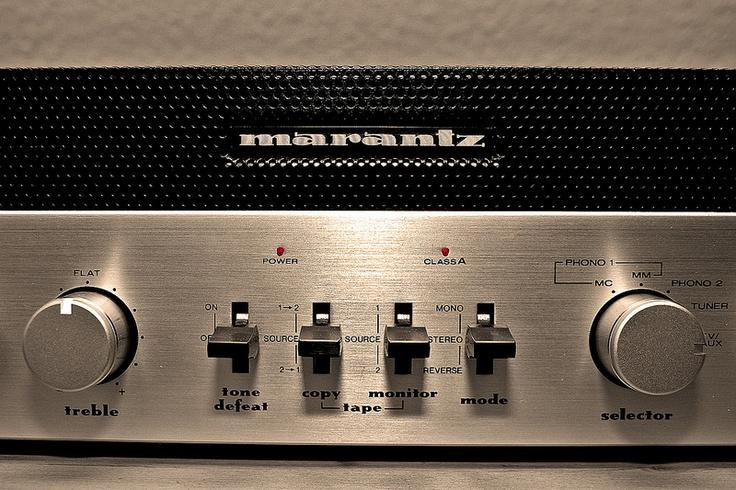 """Marantz - Esotec PM 4 ,Vintage Audiophile  Integrated Amplifier"" 1...  http://about.me/Samissomar"