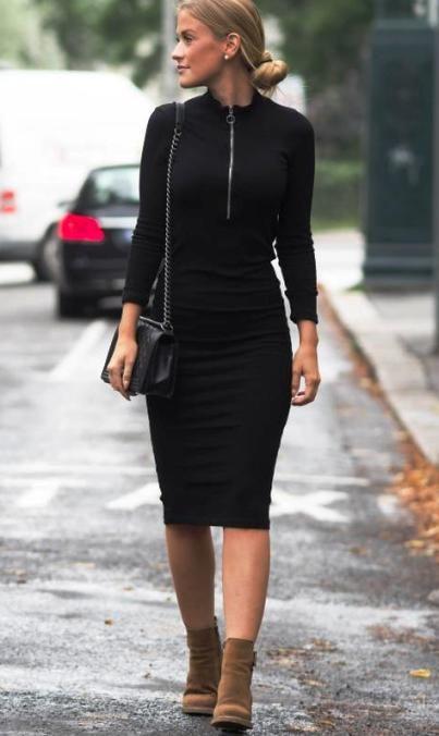 Уличный стиль весны 2017 -- такие разные черные юбки