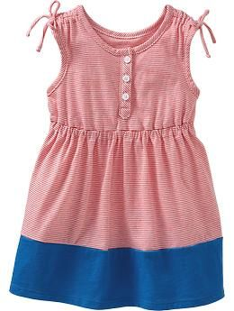 Color-Block Jersey Tank Dresses for Baby | Old Navy