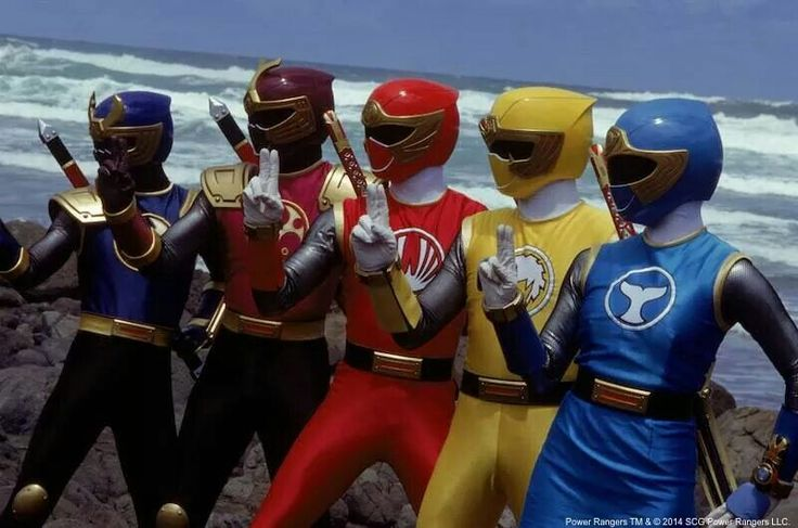 Power Rangers Ninja Storm a.k.a. Ninpuu Sentai Hurricaneger