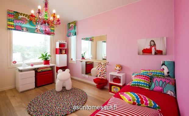 4 Omatalo Uniikki - Makuuhuone 2 | Asuntomessut