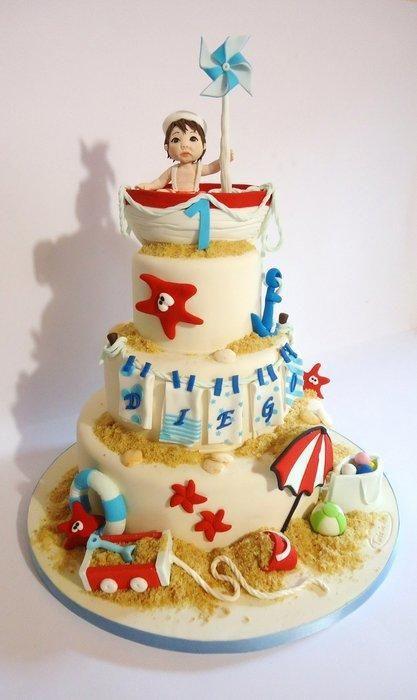 Birthday in August! - Cake by Diletta Contaldo