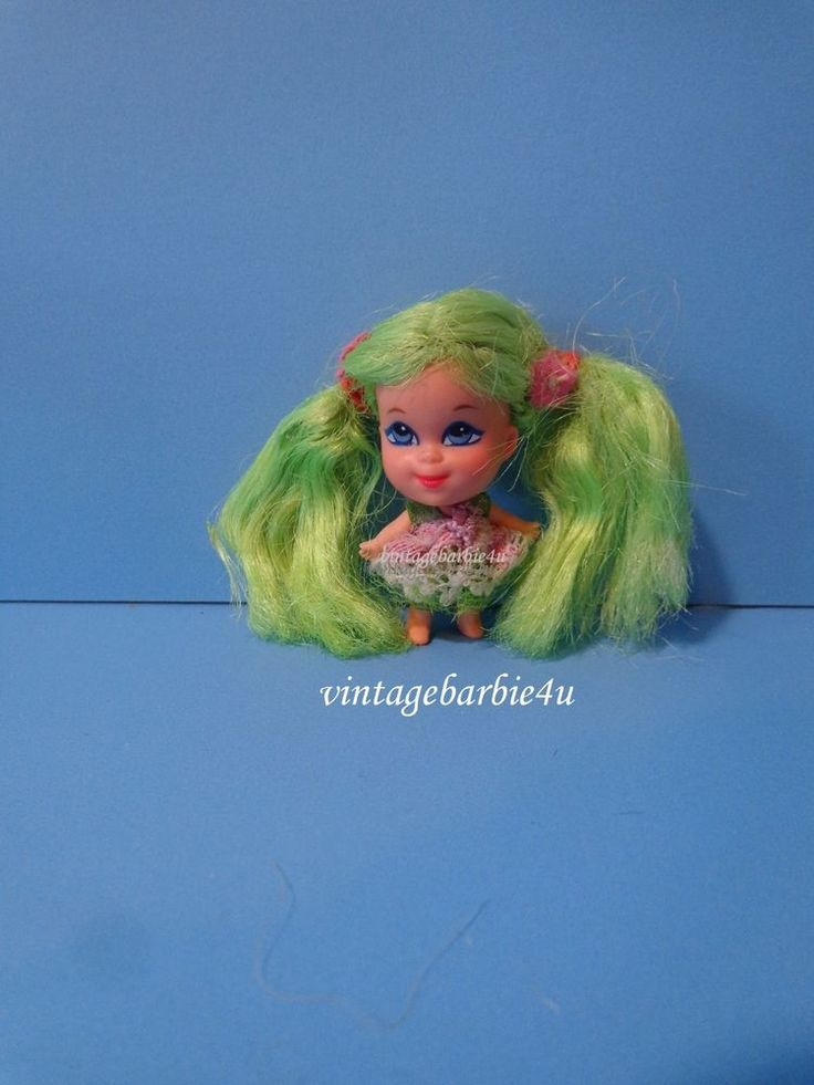 Little Kiddles Kolognes Doll Apple Blossom #3707  Vintage 1960s Mattel  #Mattel #DollswithClothingAccessories