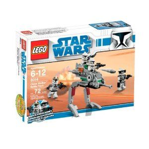Lego Star Wars Clone Walker Battle Pack (8014).  It also comes with flick fire missiles,I really love that.  And movable legs!!!