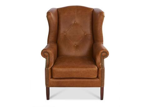 Elizabeth Wing Chair  #Meyerandmarsh