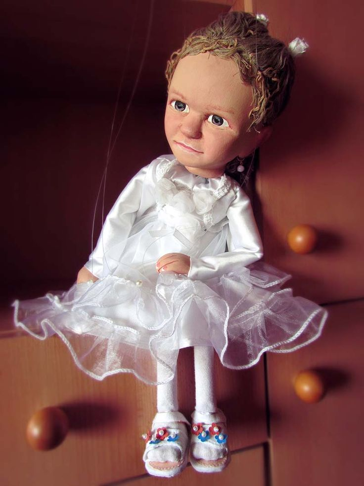 A Little Girl as a Marionette...