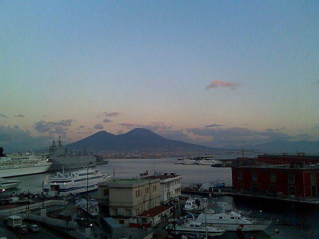 Napoli, mare e Vesuvio
