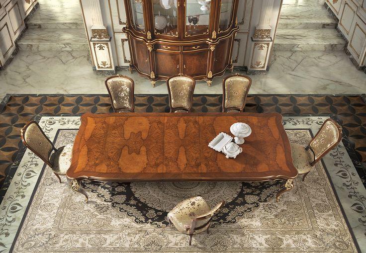 PISANI Luxury classic dining room furniture