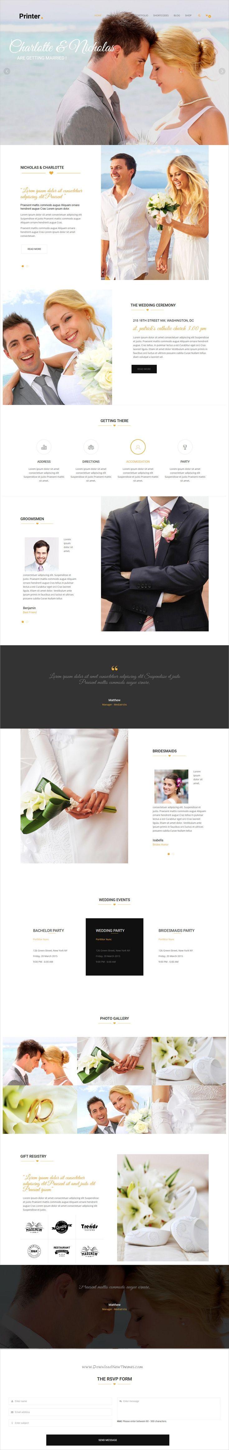 wedding invitation template themeforest%0A Printer  Responsive MultiPurpose Creative Joomla Theme With Page Builder