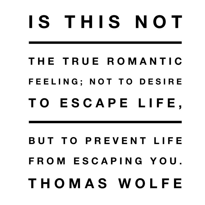 Thomas Wolfe Quotes Asheville NC - Seltzer Goods