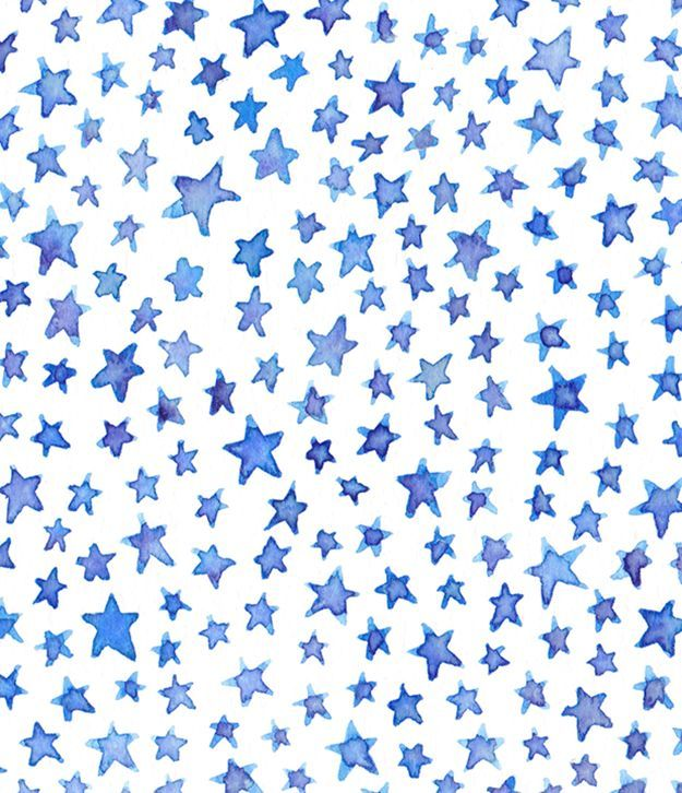 blue and purple watercolor stars | If you must be