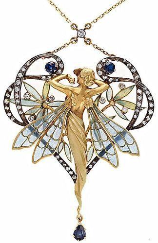 Art Deco, Art Nouveau jewelry - Viola.bz