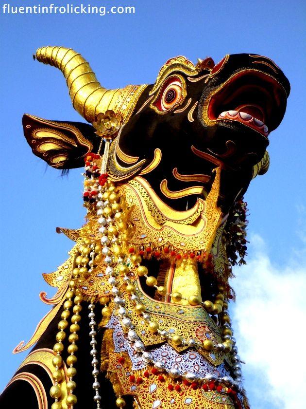 Ngaben Cremation Ceremony   Ubud, Bali  Indonesia