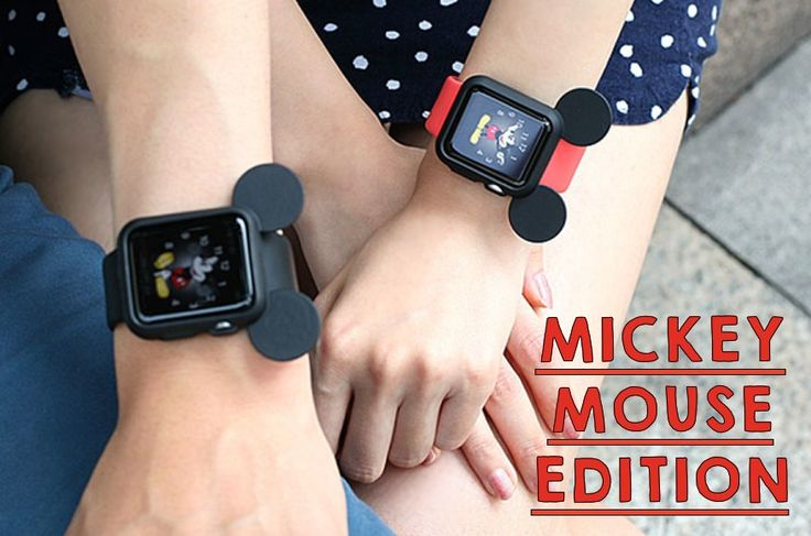 LIMITED: How Cute is this Mickey Mouse Case for Apple Watch?