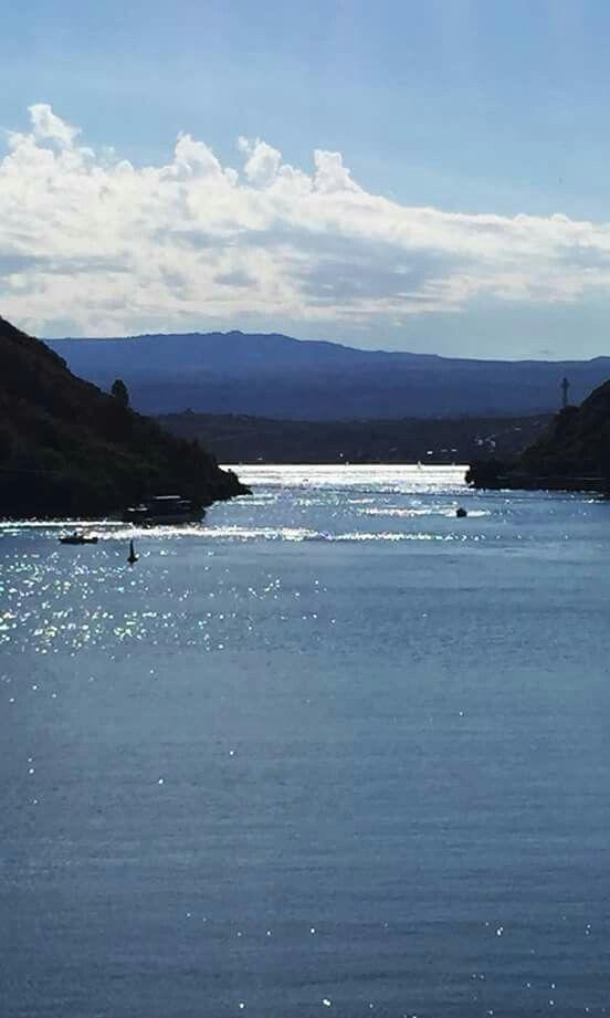 Villa Carlos Paz. Lago San Roque. Cordoba. Argentina