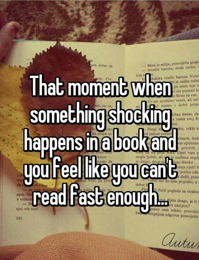 This... But then, it means the end of the book is near