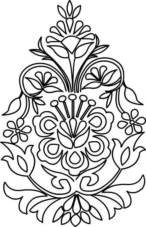 Floral Design Patterns | by sumathi floral designs patterns to transfer works by sumathi floral ...