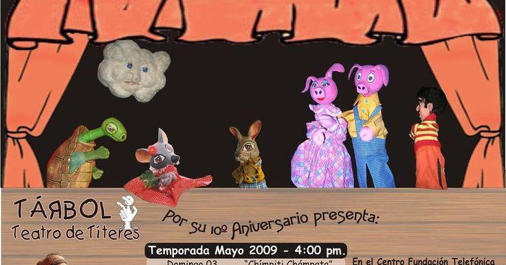 De Títeres ... en Perú: Tárbol en Centro Fundación Telefónica