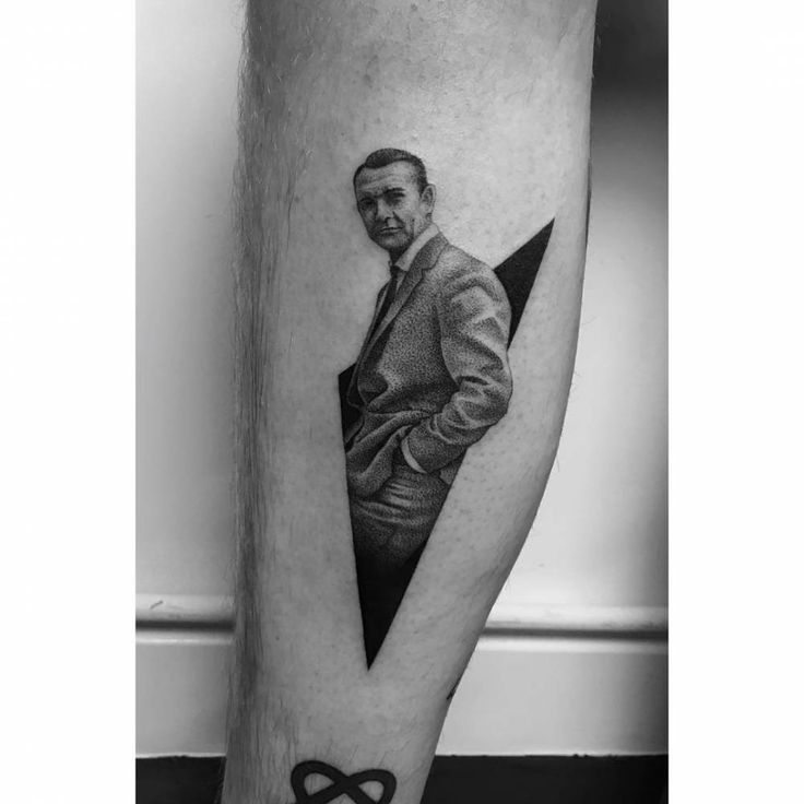 92 best calf tattoos images on pinterest tattoo artists for Sean connery tattoos