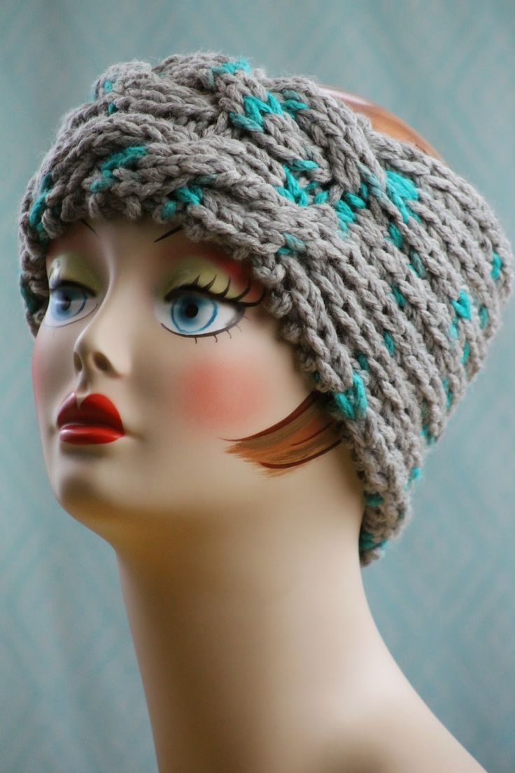228 best knit hats and headbands images on Pinterest ...