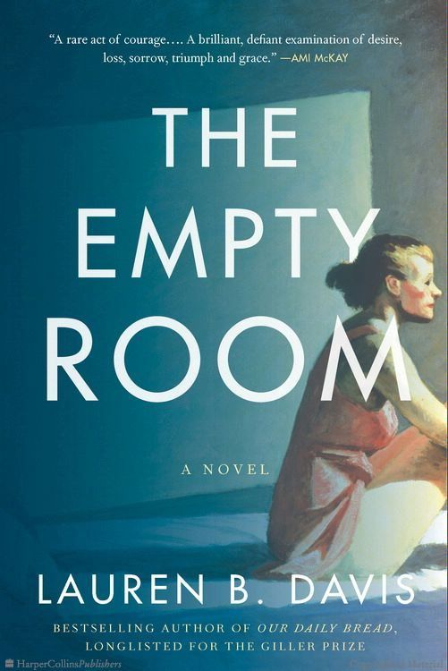 A book I will not forget, hard to put down. The Empty Room, Lauren B Davis
