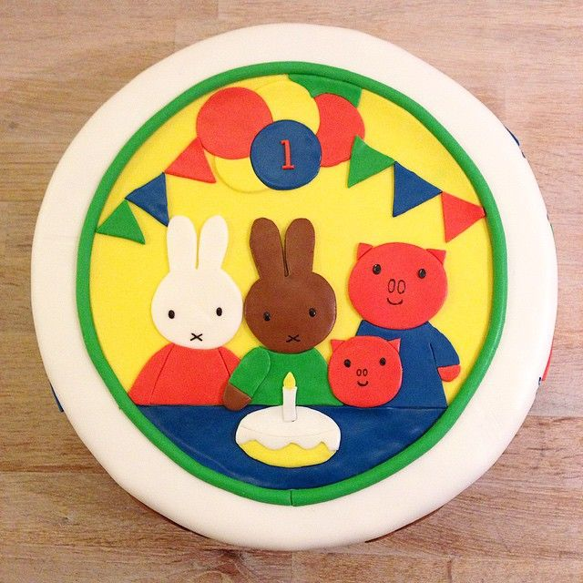 Yum! What could be better than #Miffy cake?