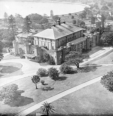 Conservatorium of Music in Sydney in the 1920s.