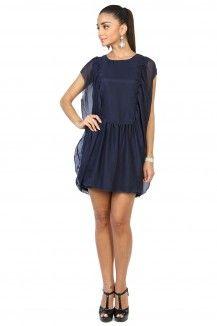 Navy Blue Dress By Sanchita  Rs. 2,345