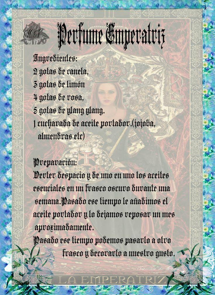 Trastos de Bruja: Perfume Emperatriz