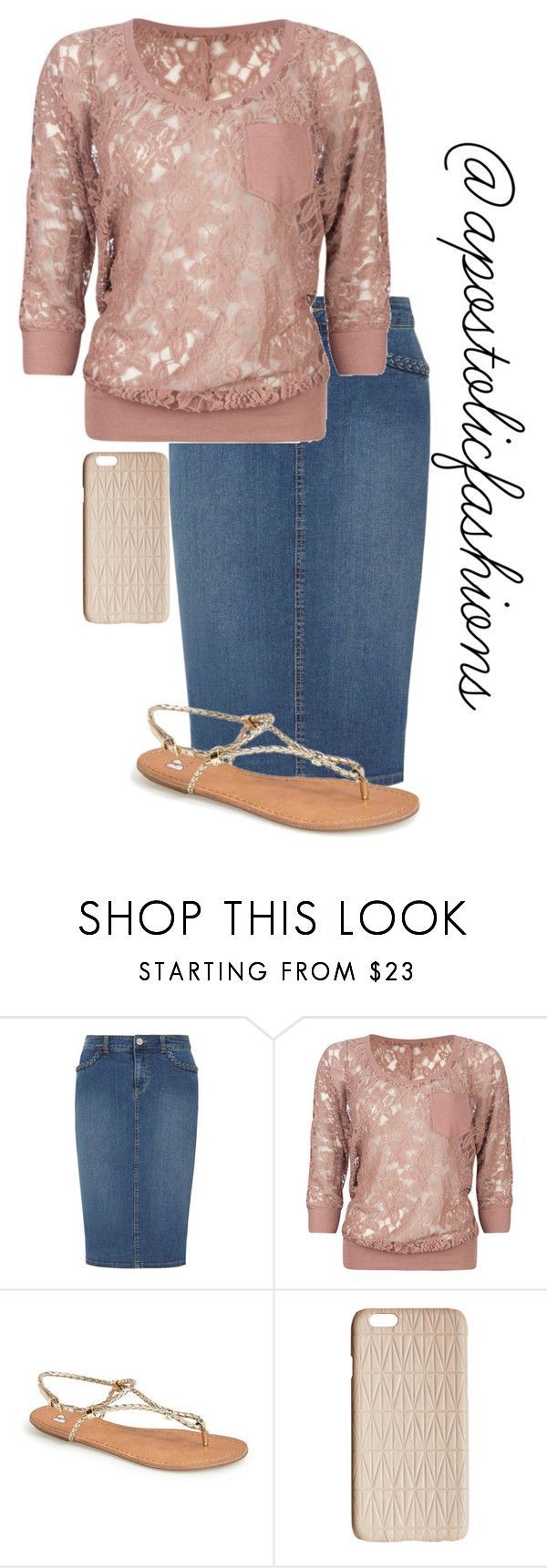 """""""Apostolic Fashions #1309"""" by apostolicfashions on Polyvore featuring Dorothy Perkins, Full Tilt, BP. and Dagmar"""