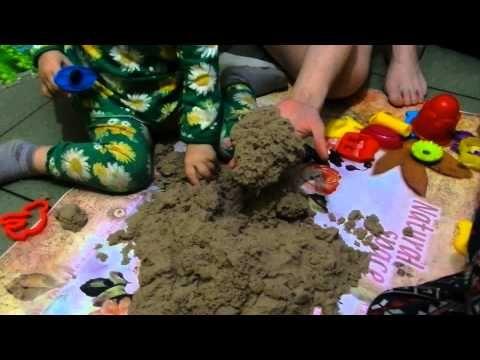 Кинетический песок. Первые впечатления. - http://www.chudo-korobka.com/?p=1142