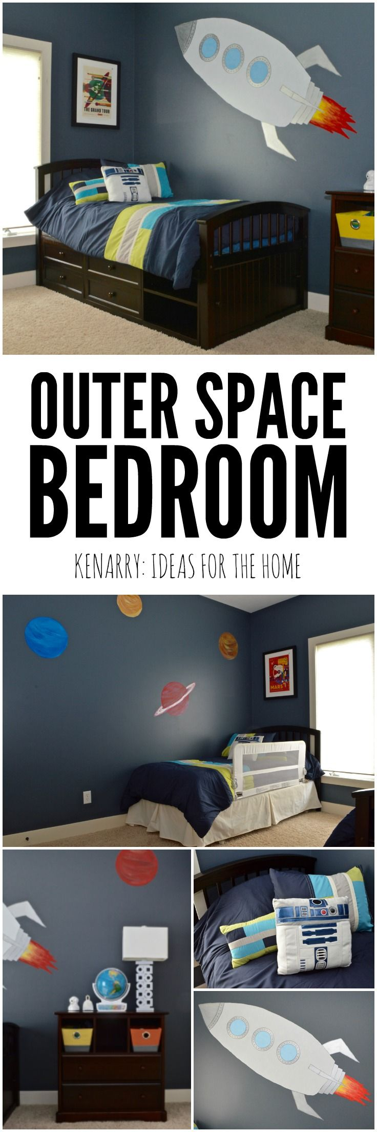 25 best ideas about outer space bedroom on pinterest for Outer space decor