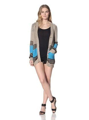 Thakoon Addition Women's Linen Cardigan