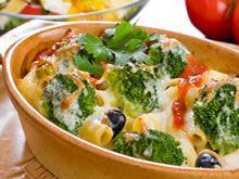 Pasta met broccoli en mozzarella