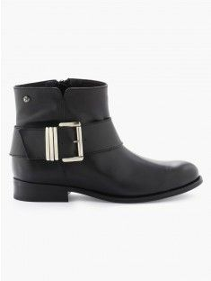 Boots actuelles à grosse boucle K BY KOOKAI