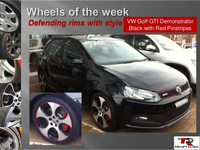 VW looks at its best with  RimPro-Tec on the wheels