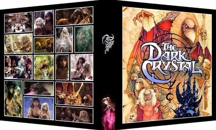 THE DARK CRYSTAL Custom Photo Album 3-Ring Binder Middle-Earth Muppet fantasy #AveryDurableViewbinder