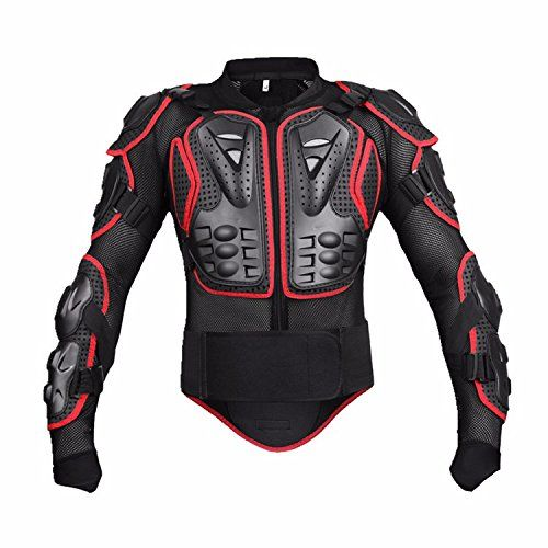 Motorcycle Full Body Armor Protective Jacket Guard ATV Motocross Gear Shirt Red Size L Fit For 2005 2006 2007 2008 2009 2010 2011 2012 KTM 990 Superduke. For product info go to:  https://www.caraccessoriesonlinemarket.com/motorcycle-full-body-armor-protective-jacket-guard-atv-motocross-gear-shirt-red-size-l-fit-for-2005-2006-2007-2008-2009-2010-2011-2012-ktm-990-superduke/