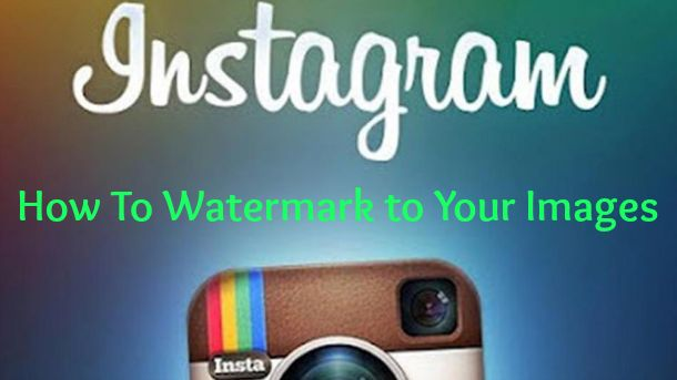 How to Make a Watermark for Instagram | How to Use iWatermark