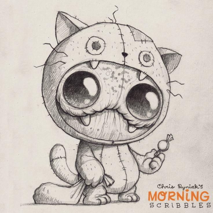Süße Monster Zeichnung                                                                                                                                                                                 Mehr