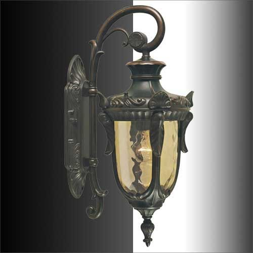 432mm GBP62 Elstead Philadelphia Small Outdoor Wall Light Lantern PH2 S OB