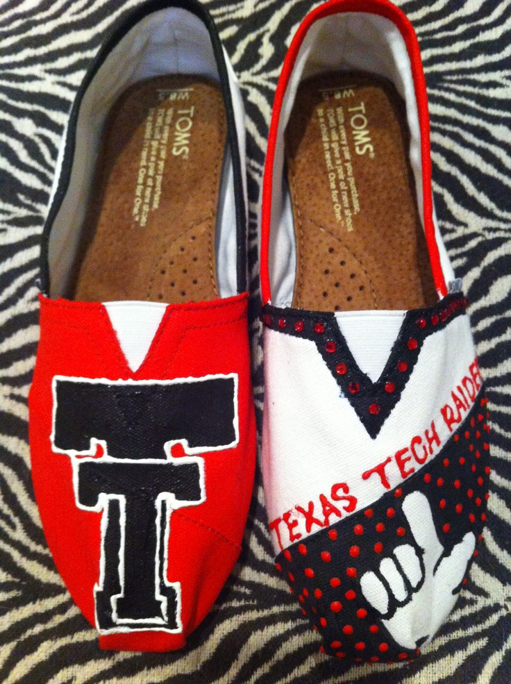 Texas Tech toms! @Texas Tech
