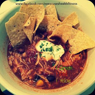 Crock Pot Chicken Taco Soup....