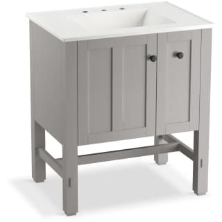 Photo Gallery In Website The Tresham vanity brings elegance and style to your bath or powder room Its simple Shaker style design features a double paneled door for attractive and