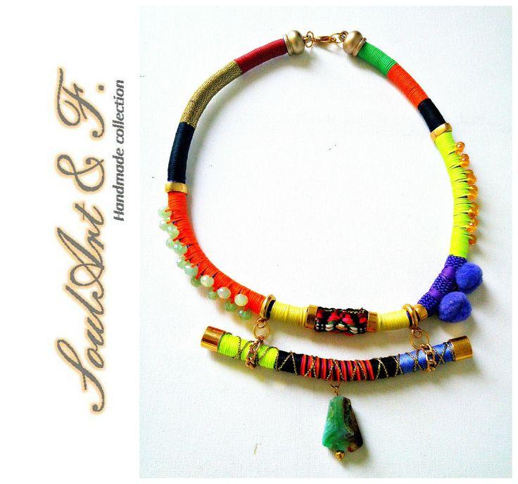 #necklase #handmade #fashiontrend #autumn14 #lovetowork #boho #soulArt #Rouxokosmima