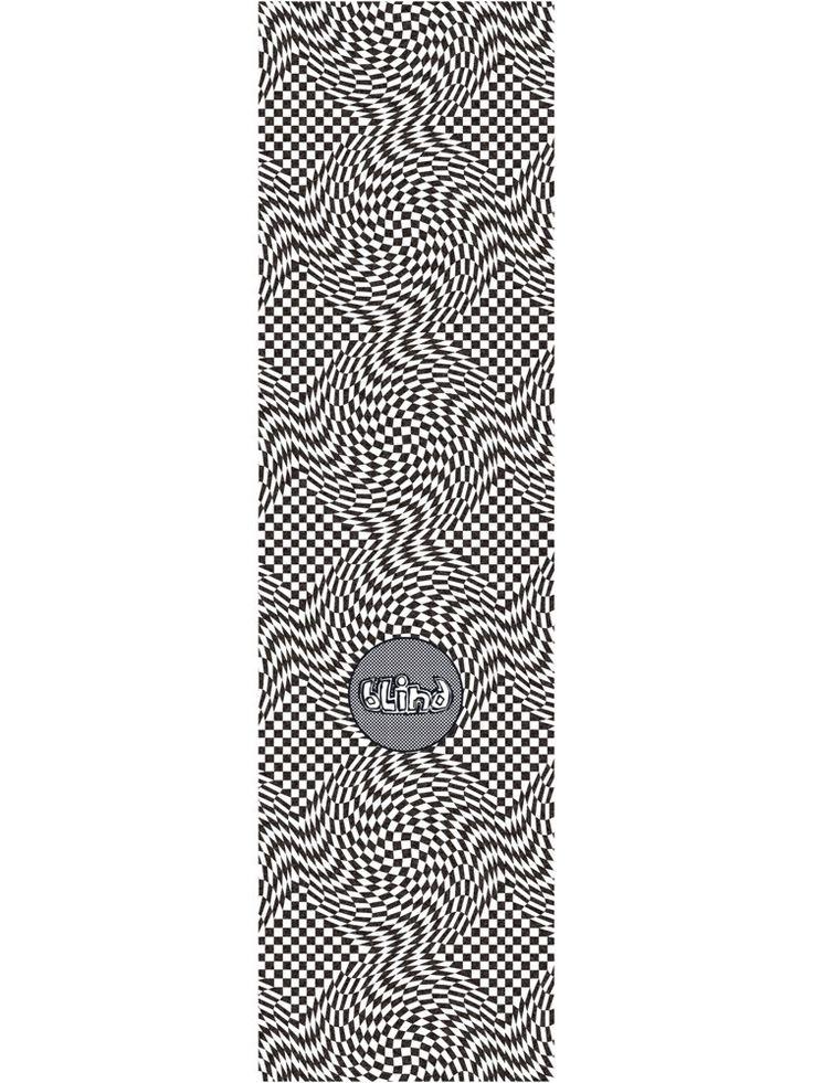 Blind warped og printed griptape skateboard grip tape
